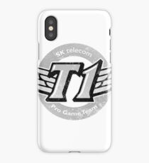 SKT T1 Vintage Logo (best quality ever) iPhone Case
