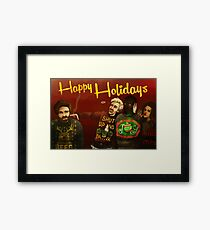 Happy Ugly Sweater Days! Framed Print