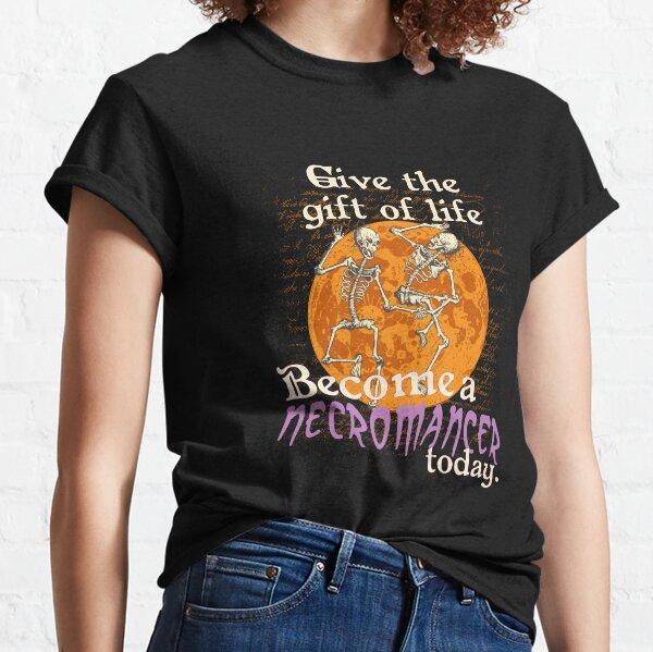 Funny Halloween Necromancer Classic T-Shirt
