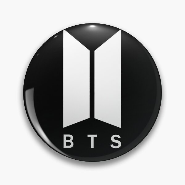 BTS Logo Pin