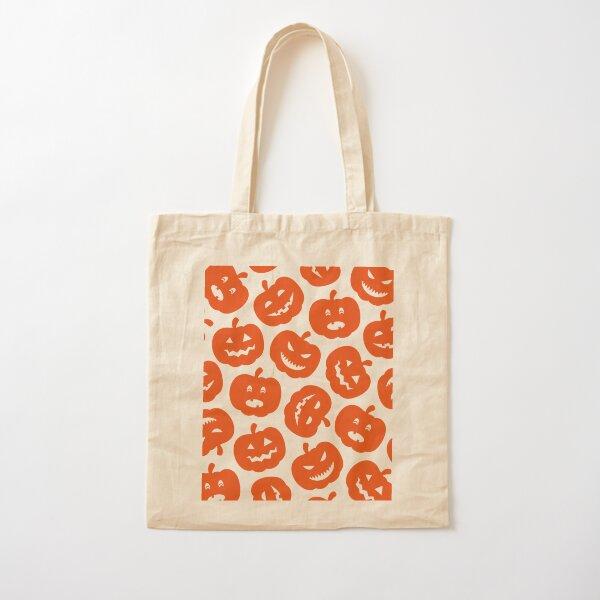 Funny Pumpkins Cotton Tote Bag