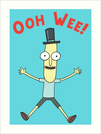 """Ooh Wee! Mr. Poopy Butthole"" Art Prints by amazitova ..."