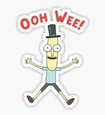 Ooh Wee! Mr. Poopy Butthole Sticker