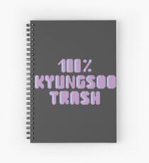 100% Kyungsoo Müll Spiralblock