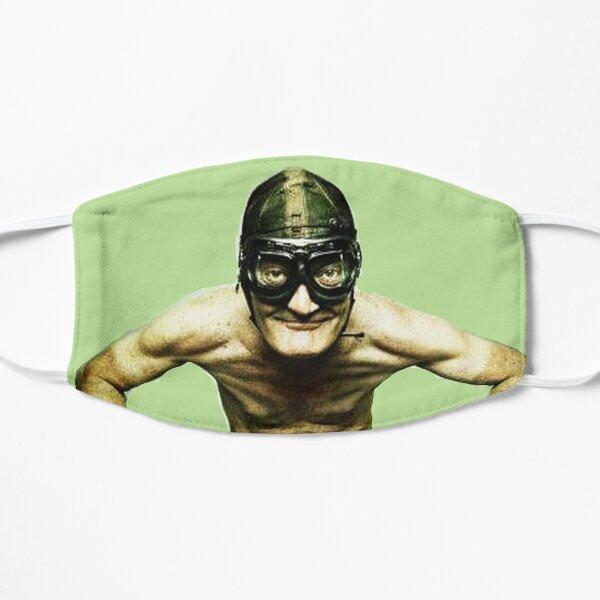 Italian Vespa funny prints and fabric Flat Mask