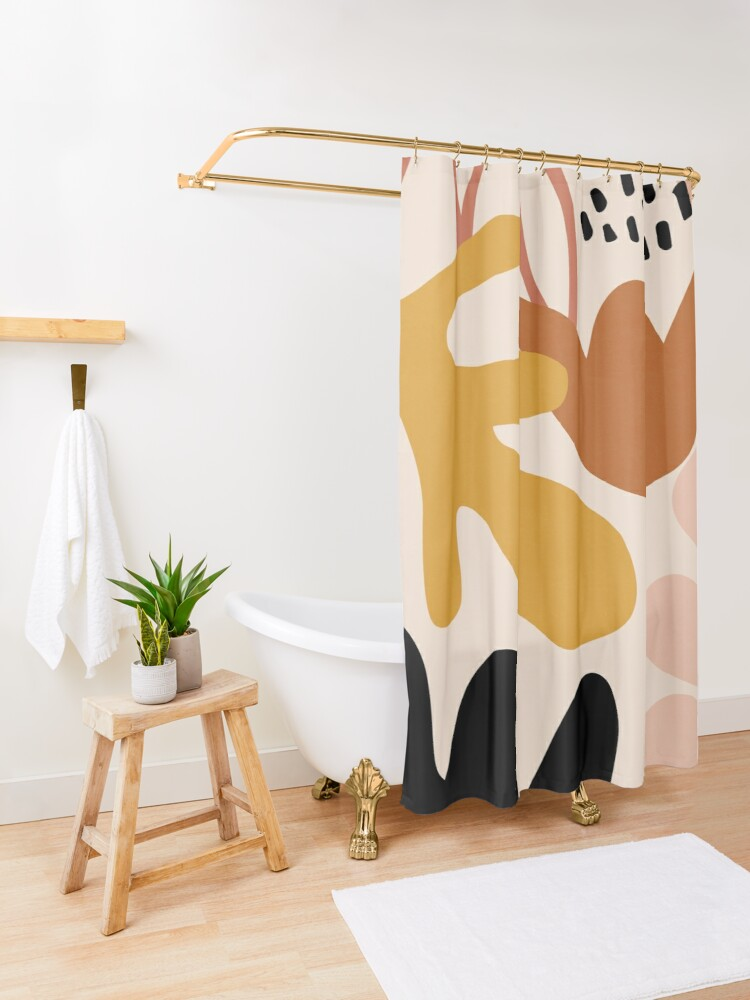 Alternate view of Fall Into Autumn Shower Curtain