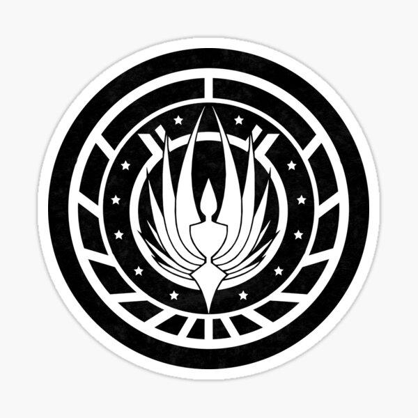 Battlestar Galactica Design - Colonial Seal Sticker