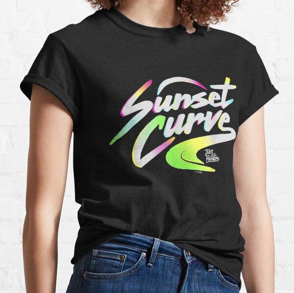 Julie et les fantômes Sunset Curve Logo T-shirt classique