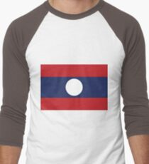 Laos Men's Baseball ¾ T-Shirt