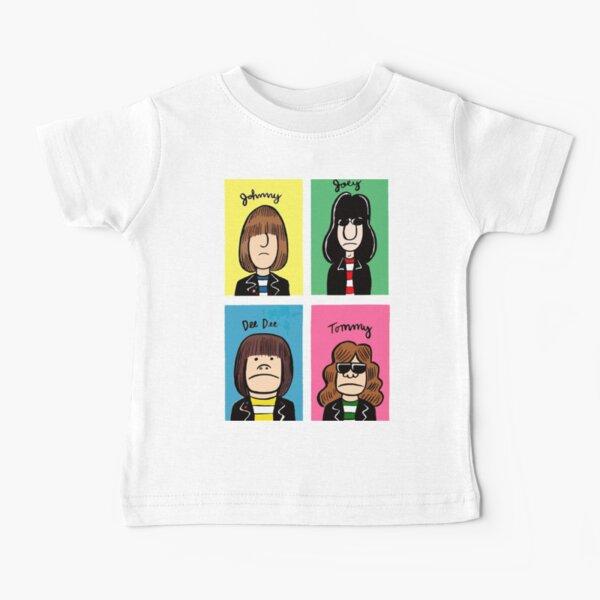 The Ramones Cartoonized Baby T-Shirt