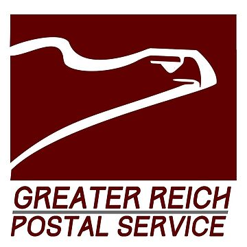 Man in the High Castle - Greater Reich Postal Service by Kingdomkey55