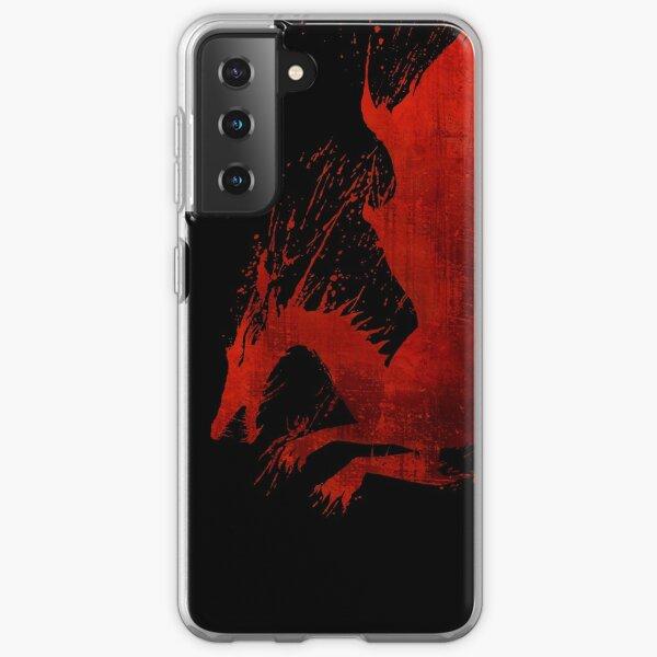Dragon Age Origins: Blood Dragon (Black BG) Samsung Galaxy Soft Case