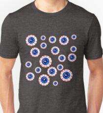 Eyeballs All Over! Peeper Print T-Shirt