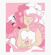 Rose Portrait - Steven Universe Photographic Print