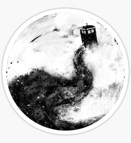 All Of Space and Time Sticker