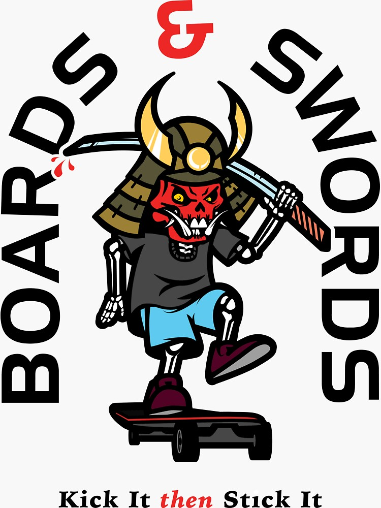 Boards & Swords by OrganicGraphic