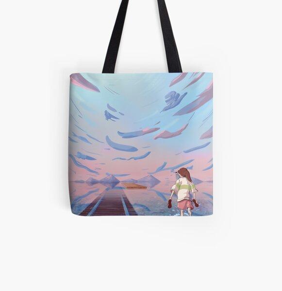 Fan Art de Chihiro Tote bag doublé