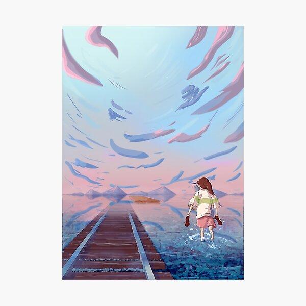 Chihiro Fan Art  Photographic Print