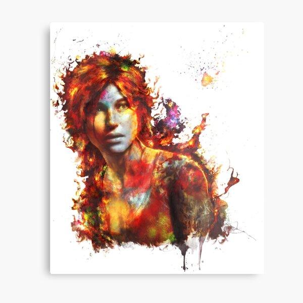 Lara Metal Print