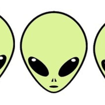 3  cute aliens  by vanessachammas