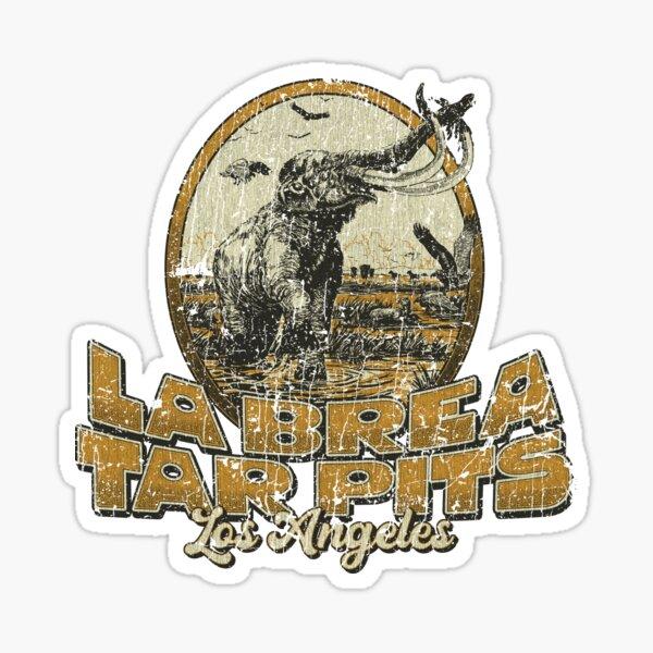 La Brea Tar Pits 1977 Sticker