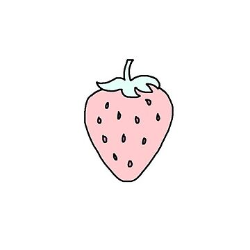 Strawberry cute  by vanessachammas
