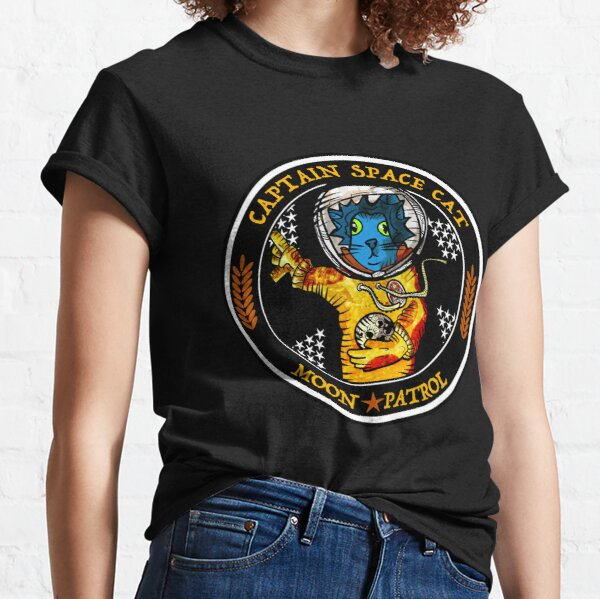 Captain Space Cat Classic T-Shirt