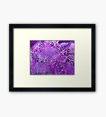 Darkened Dimensionality (ironic) Framed Print