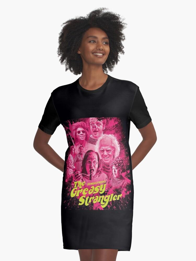 Greasy Strangler Hootie Tootie Disco Cutie Movie  Graphic Printed T-Shirt