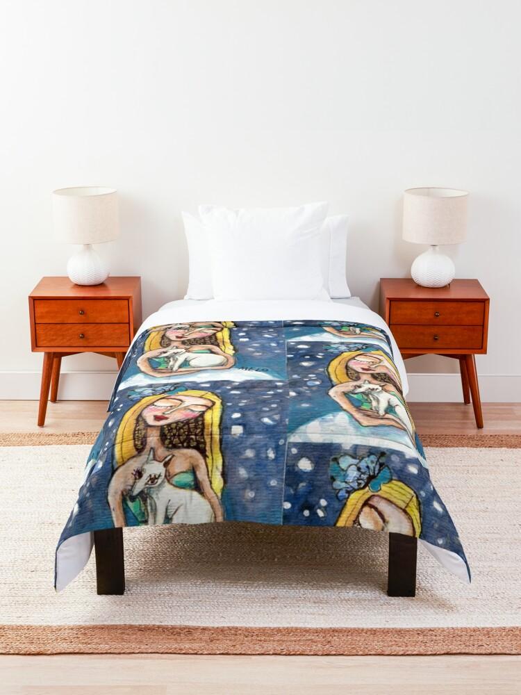 Alternate view of Best Friends Comforter