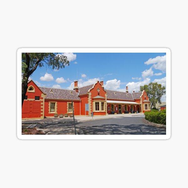 Bathurst Railway Station Sticker
