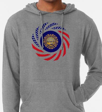 New Hampshire Murican Patriot Flag Series Lightweight Hoodie