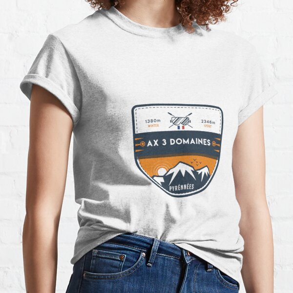 AX 3 DOMAINES T-shirt classique