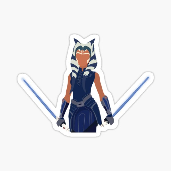 Ashoka Tano - The Clone Wars Sticker