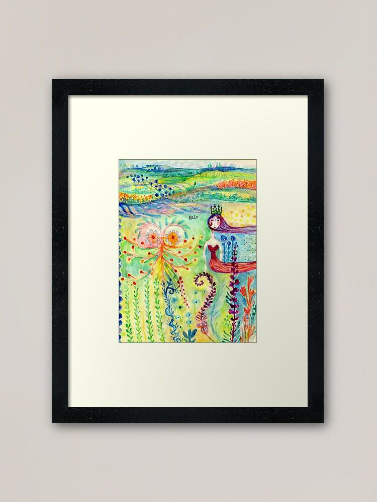Alternate view of Tales in Paradise Framed Art Print
