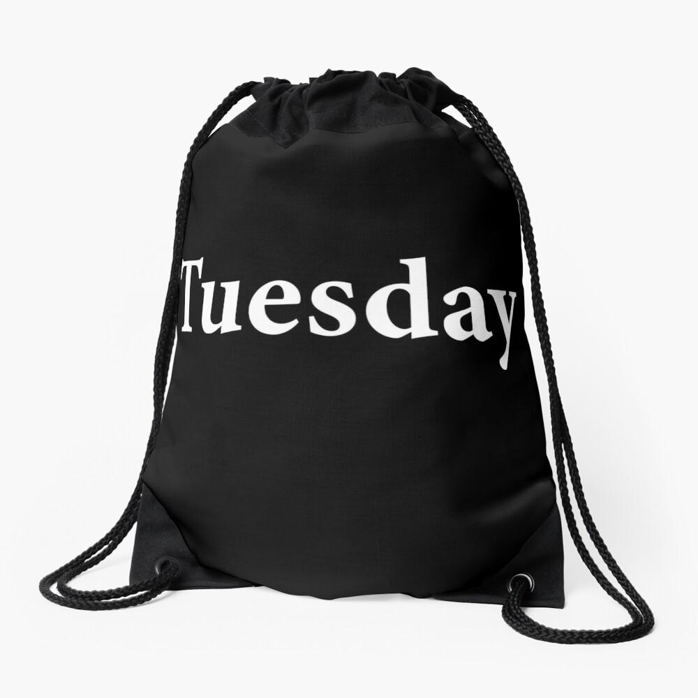 Tuesday - Mars - Roman God of War - Taco Tuesday - tueyah Drawstring Bag