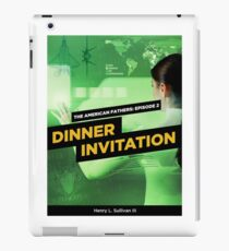 Dinner Invitation Book Cover iPad Case/Skin