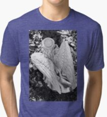 Angel Statue  Tri-blend T-Shirt