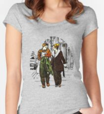 Fargo - Ed and Peggy Women's Fitted Scoop T-Shirt
