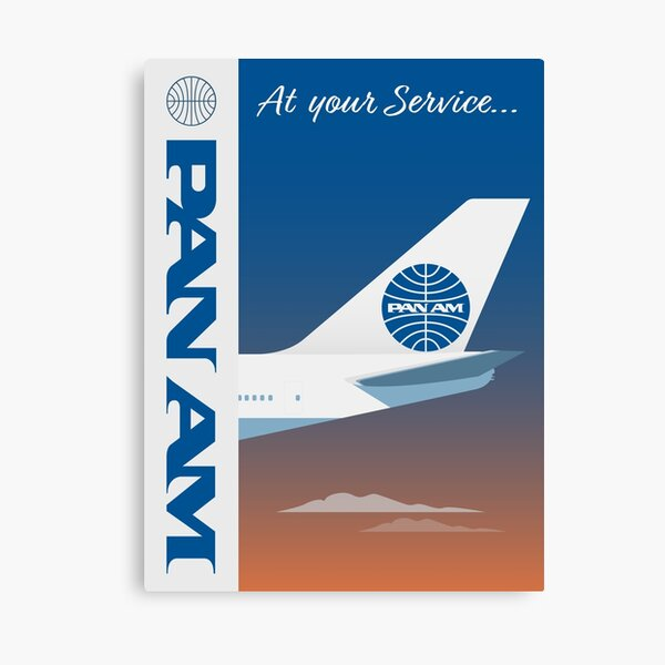 Pan American World Airways design Canvas Print