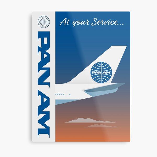 Pan American World Airways design Metal Print