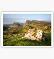The Quiraing, Isle of Skye Sticker