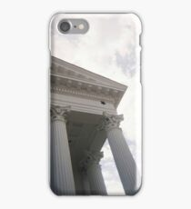 Columns and sky iPhone Case/Skin