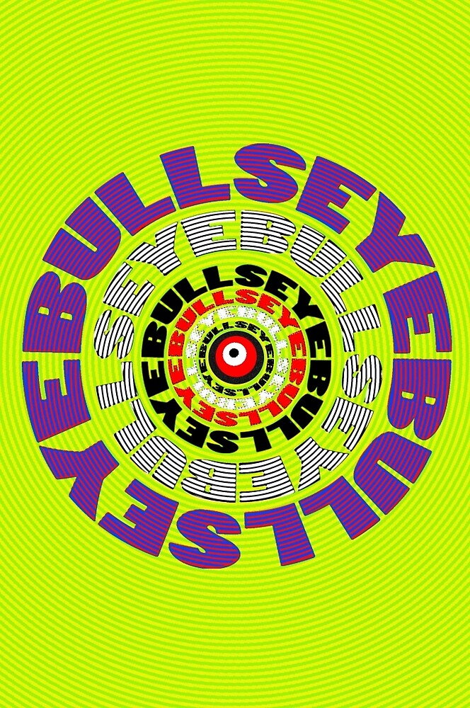 BULLS EYE by TeaseTees