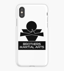 Brothers Martial Arts iPhone Case/Skin