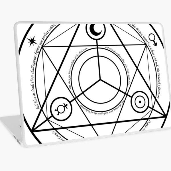 Transmutation Circle  #Transmutation #Circle #TransmutationCircle #CircleTransmutation  Laptop Skin