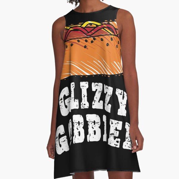 Glizzy Gobbler Dresses | Redbubble