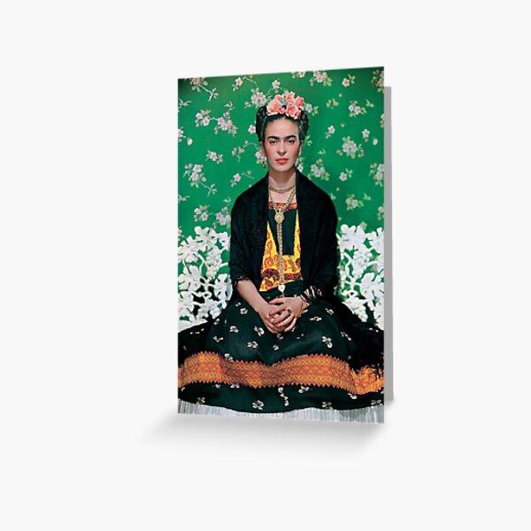 Frida Kahlo Carte de vœux