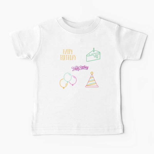 Celebrating birth of a loved one, birthday event and gifts Baby T-Shirt