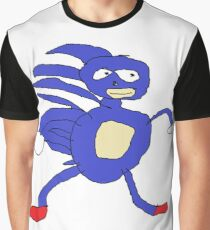 MLG Sanic Meme Graphic T-Shirt